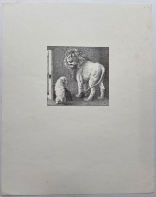Untitled (Lion and Dog). Maurice SENDAK