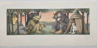 Untitled (Where the Wild Things Are). Maurice SENDAK
