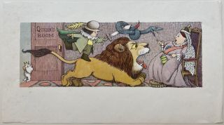 Untitled (Queen's Room). Maurice SENDAK