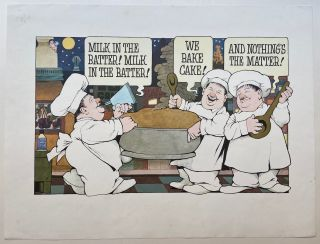 Milk in the Batter. Maurice SENDAK