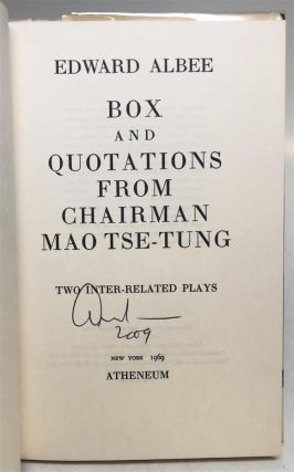 Box and Quotations from Chairman Mao Tse-Tung