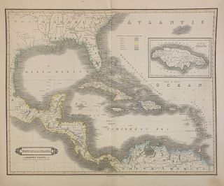 West India Islands and Adjacent Coasts of the United States, Mexico, Guatimala & Colombia....