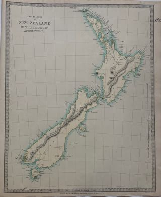 The Islands of New Zealand. SDUK, Society for the Diffusion of Useful Knowledge