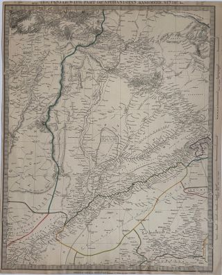 The Panjab with Part of Afghanistan, Kashmeer, Sinde, &c. SDUK, Society for the Diffusion of...