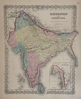 Hindostan or British India. J. H. COLTON
