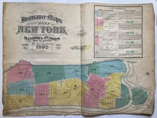 Title Page - Insurance Maps of the City of New York; Volume Eleven and One-Half. SANBORN MAP COMPANY