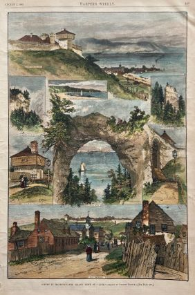 "Scenes in Mackinac - The Island Home of ""Anne"" HARPER'S WEEKLY"