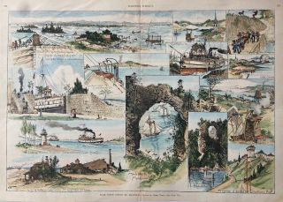 From Owen Sound to Mackinac. HARPER'S WEEKLY