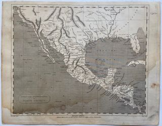 Spanish Dominions in North America. Aaron ARROWSMITH
