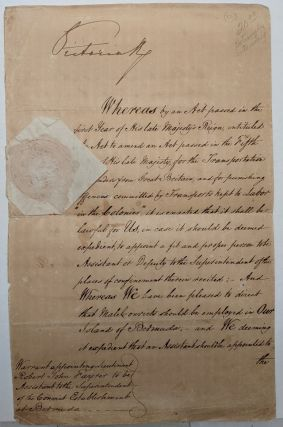 Exceptional Manuscript Document. Queen VICTORIA