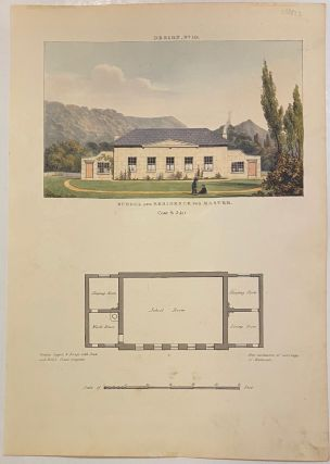 School and Residence for Master Design, No 10. John HALL