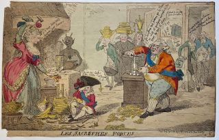 Les sacrefices forces. Isaac CRUIKSHANK