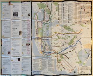 Theaters of New York City Subway and Bus Guide. Metropolitan Transit Authority
