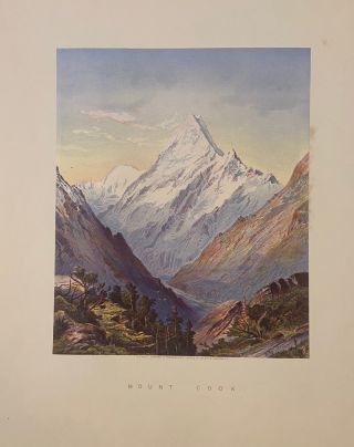 Mount Cook. Charles D. BARRAUD
