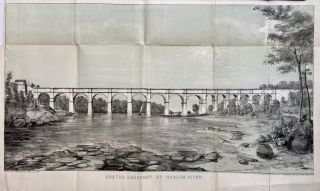 Croton Aqueduct at Harlem River. D. T. VALENTINE, David Thomas