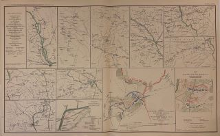 Campaign Maps exhibiting the Line of March of the 20th Corps from Savannah, GA., Goldsborough,...