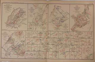 Battles of Winchester, Cedar Run, and Port Republic, VA; Sketches Accompanying Journal of Capt....