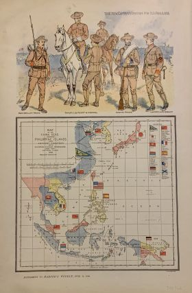 Map of the China Seas Showing Philippine Islands and Adjacent Countries with European Colonial...