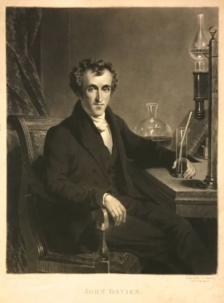 Exceptional Mezzotint Portrait by S. W. Reynolds after S. W. Reynolds Jr. John DAVIES