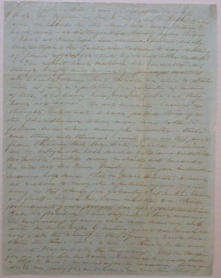 Autographed Letter Signed to his wife