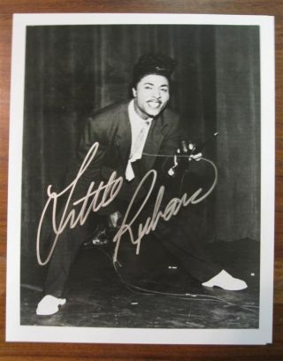 Signed Photograph. LITTLE RICHARD, 1932