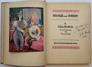 """Collection of autographed items related to the folk song """"Frankie and Johnny"""""""