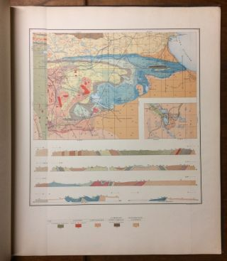 Atlas to Accompany Monograph XXVIII on the Marquette Iron-Bearing District of Michigan