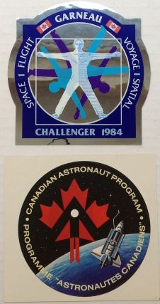 Rare collection of memorabilia from the Canadian Astronaut Program